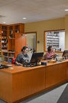 New Music Library Circulation Desk