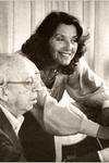 Vivian Perlis with Aaron Copland