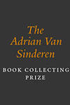 Announcing the Adrian Van Sinderen Book Collecting Prize