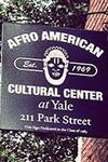 sign for the Afro-American Cultural Center at Yale