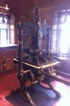 Albion hand press at The Bibliographical Press