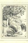 [Ex Libris RT] by Allan Wyon, 1894, 8.38 x 6.96 cm. Pearson-Lowenhaupt Collection of English and American Bookplates (BKP 30), Robert B. Haas Family Arts Library, Yale University.