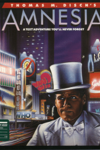 Amnesia game cover man in top hat with cityscape behind
