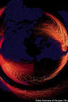 Every hurricane of the past 150 years: Metrocosm