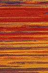 [Detail of slipcase textile], Negative Entropy (2015) by Mika Tajima. Image copyright Mika Tajima. Used with permission.
