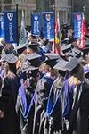 Yale graduates preparing for commencement