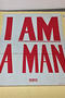 I am a Man campaign material from Martin Luther King