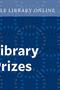Graphic with text reading Yale Library Online Library Prizes