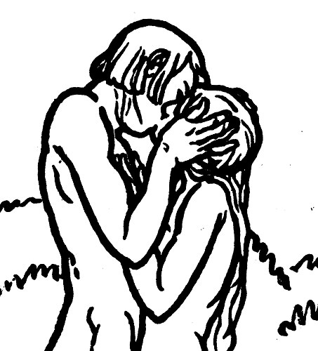 Illustration from The Song of Songs (Book Club of California, 1922)