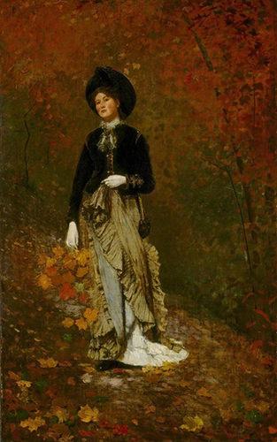 Winslow Homer, Autumn, 1877.